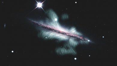 Photo of Conoce la sorprendente imagen de una galaxia espiral de la Vía Láctea