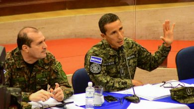 """Photo of Francis Merino Monroy: """"No hubo operación militar el 9 de febrero"""""""