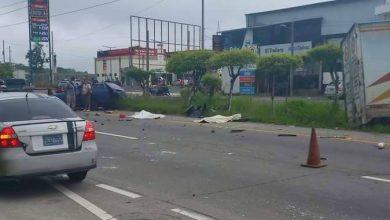Photo of [Vídeo] Grabaron momento exacto de accidente fatal en carretera de oro