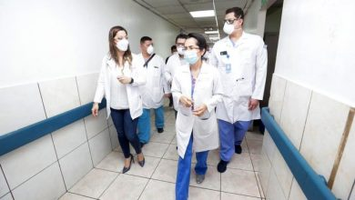 Photo of Directora del ISSS verifica condiciones del personal de salud del hospital Amatepec