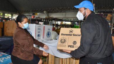 Photo of Comerciantes de Cuscatancingo reciben paquetes alimentarios