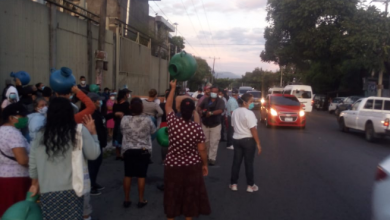 Photo of Habitantes de San Martín protestan por falta de agua potable en sus comunidades