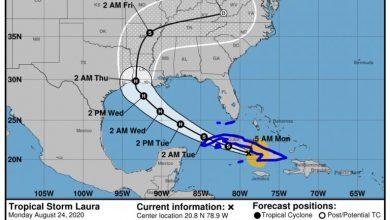 Photo of Tormenta tropical Laura llega a Cuba