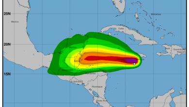 Photo of MARN evalúa influencia de tormenta tropical Nana ubicada en Jamaica