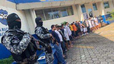 Photo of Operativo policial deja 22 delincuentes detenidos en  San Salvador