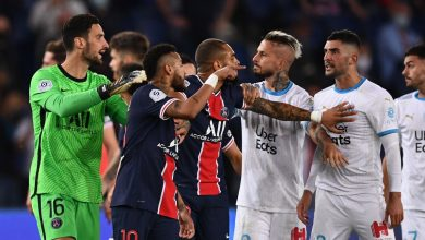 Photo of Marsella venció al Paris St-Germain en la Ligue 1