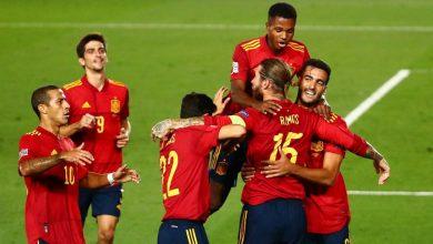 Photo of España alcanza la cima de la Liga de las Naciones tras golear a Ucrania