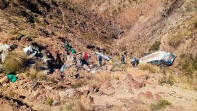 Photo of Bus cae en precipicio de 200 metros de profundidad y deja 19 muertos en Bolivia