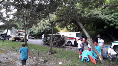 Photo of Accidente de tránsito deja un  hombre lesionado en San Vicente