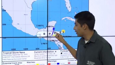 Photo of Tormenta Tropical Nana influenciará a El Salvador a partir de esta noche