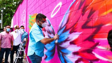 Photo of Tejido Social apoya a grafiteros de la urbanización Majucla