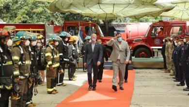 Photo of Rinden tributo a bomberos fallecidos en atentados a Torres Gemelas