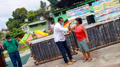 Photo of Entrega camarotes y colchonetas a familias capitalinas afectadas por tormenta Amanda