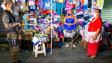 Photo of Ministro de Defensa patrulla el centro de San Salvador