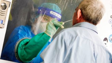 Photo of Salud realizó pruebas de COVID-19 en Ciudad Arce, La Libertad