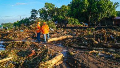 Photo of Cierran paso hacia redondel Integración por escombros del deslave en Nejapa