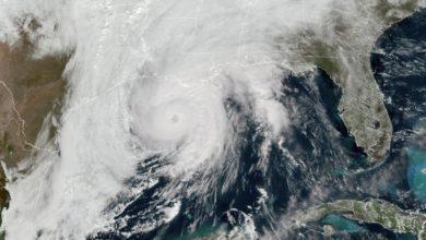 Photo of Huracán Zeta toca tierra en Luisiana con vientos de categoría 2