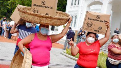 Photo of Entrega más de 500 paquetes alimentarios a panaderos de San Salvador