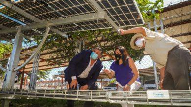 Photo of El Salvador ya cuenta con una planta de paneles solares bifaciales