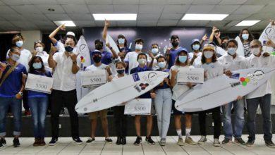 Photo of INDES brinda incentivos a atletas de Fesasurf y anuncia fechas para el Circuito Nacional de Surf