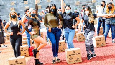 Photo of Más de 400 artistas urbanos son beneficiados con paquetes alimentarios