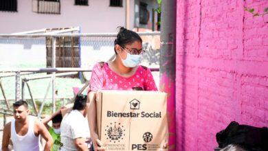 Photo of Comunidad Concepción Don Bosco, en San Salvador recibe paquetes alimentarios