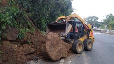 Photo of MOP reporta 22 derrumbes y formación de seis cárcavas por lluvias registradas el fin de semana