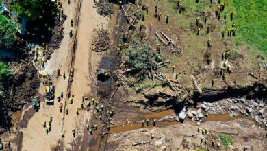Photo of (Fotos) Continúa la búsqueda de una persona desaparecida y la remoción de escombros en Nejapa