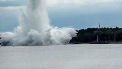 Photo of VIDEO| Bomba gigante de la Segunda Guerra Mundial explota mientras se desactiva en Polonia