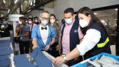 Photo of Ministro de Trabajo verifica medidas de bioseguridad en empresa textil de San Juan Opico, La Libertad