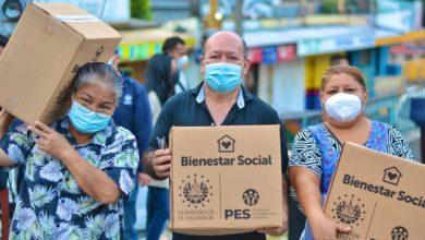 Photo of Vendedores del mercado Belloso favorecidos con paquetes alimentarios