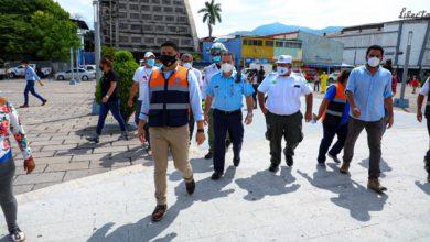 Photo of (Fotos) Gobierno realiza simulacro nacional para prepararse ante un posible sismo en el territorio salvadoreño