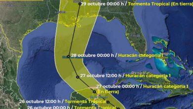 Photo of Tormenta tropical Zeta se convertiría en huracán antes de tocar tierra en Yucatán, México