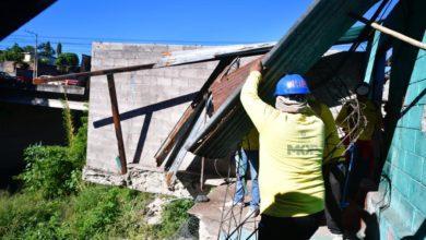 Trabajos de demolición
